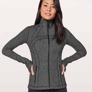 Lululemon Define Jacket Heathered Herringbone